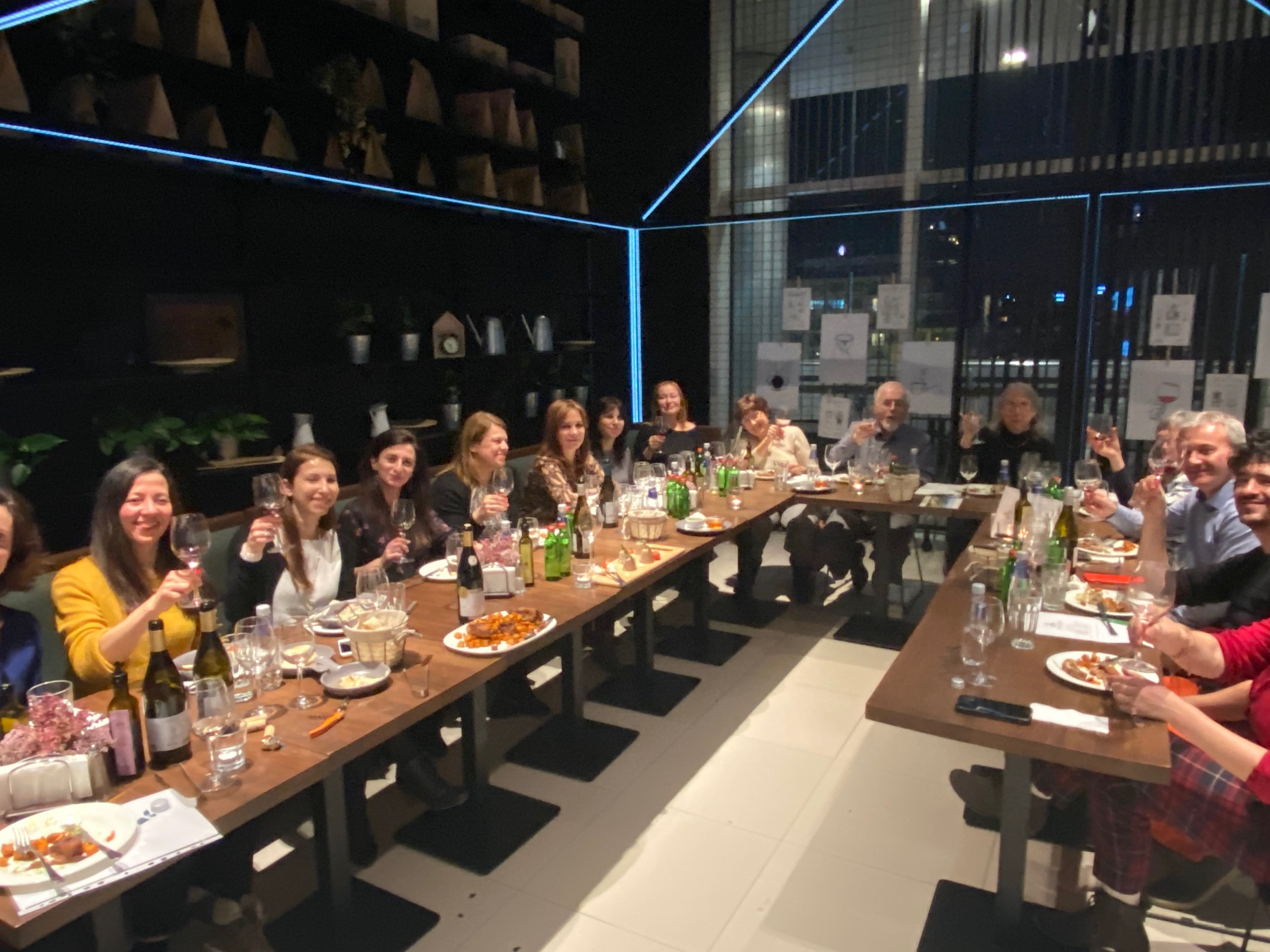 Wine dinner with Burgozone